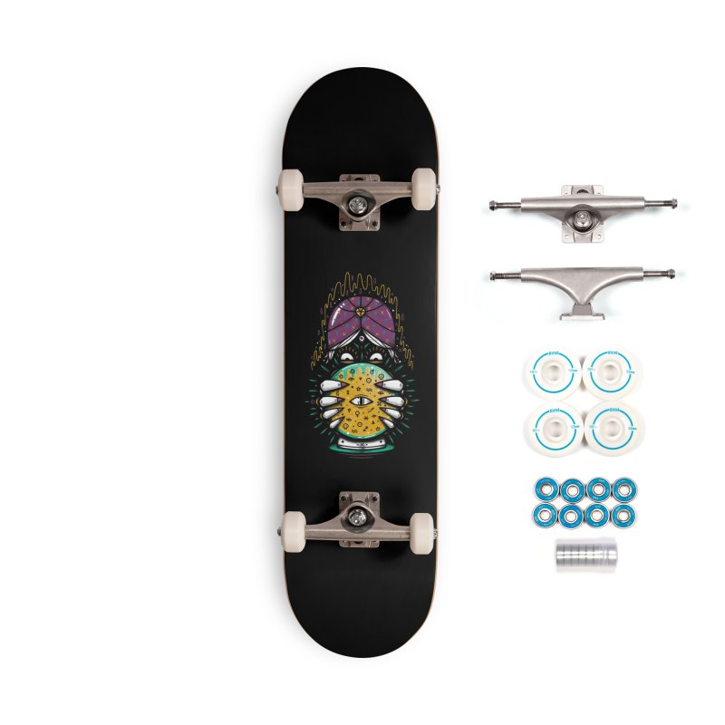 Fortune Teller! Accessories Complete - Basic Skateboard by effect14's Artist Shop