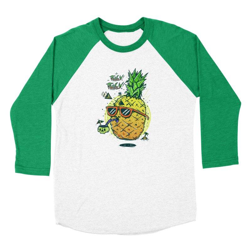 Juicy Juicy Women's Baseball Triblend Longsleeve T-Shirt by effect14's Artist Shop