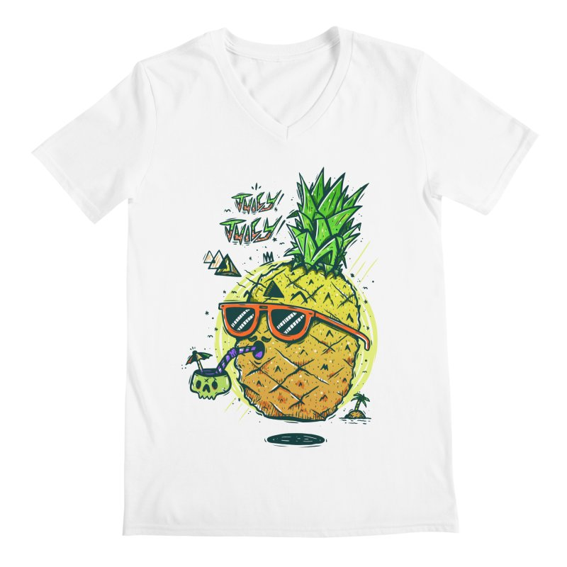 Juicy Juicy Men's V-Neck by effect14's Artist Shop