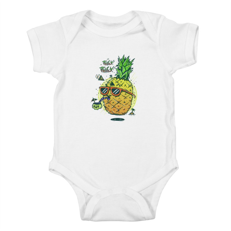 Juicy Juicy Kids Baby Bodysuit by effect14's Artist Shop