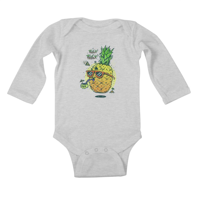 Juicy Juicy Kids Baby Longsleeve Bodysuit by effect14's Artist Shop