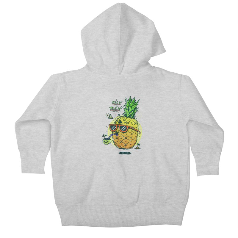 Juicy Juicy Kids Baby Zip-Up Hoody by effect14's Artist Shop