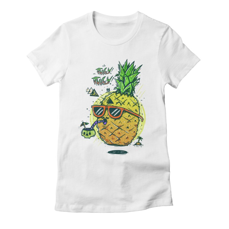 Juicy Juicy Women's Fitted T-Shirt by effect14's Artist Shop