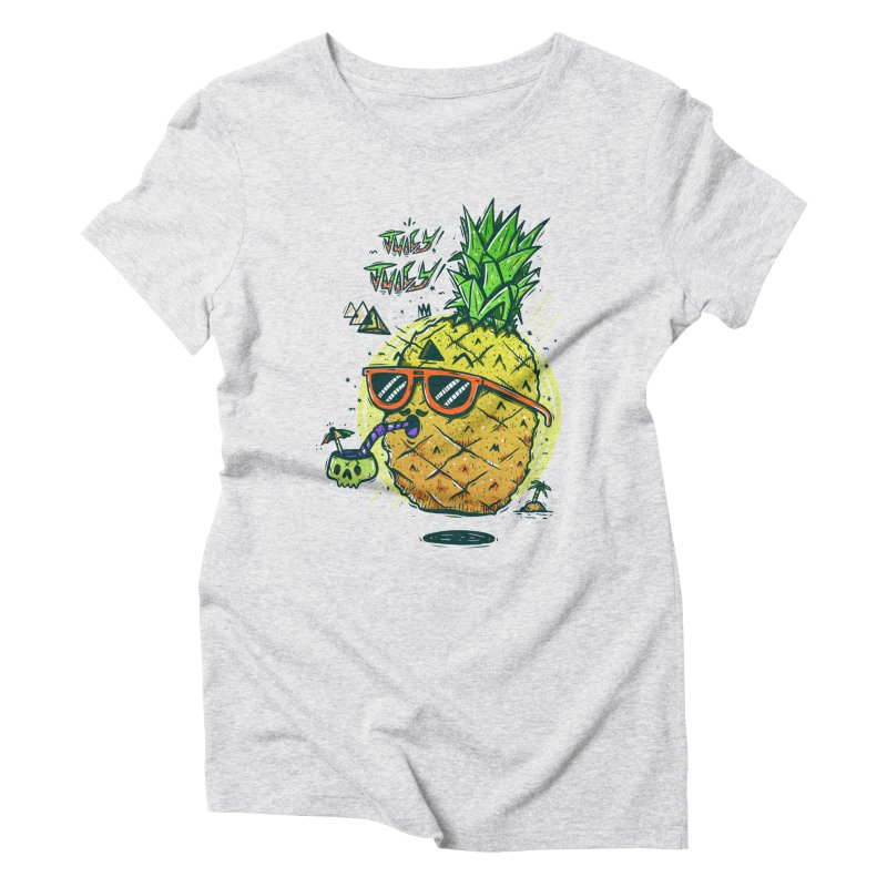 Juicy Juicy Women's Triblend T-Shirt by effect14's Artist Shop