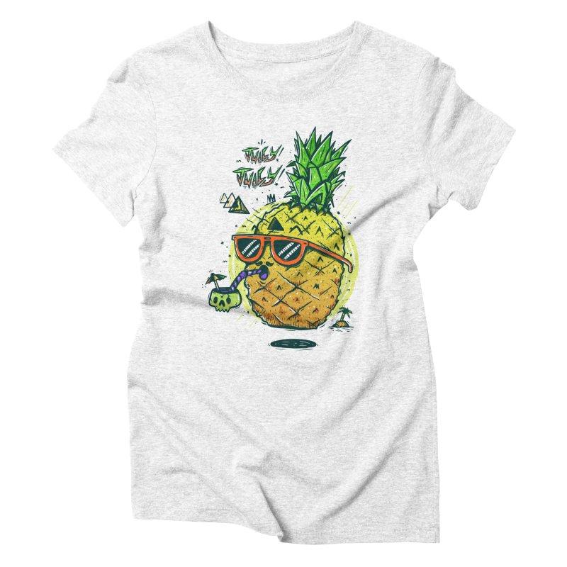 Juicy Juicy Women's Triblend T-shirt by effect14's Artist Shop