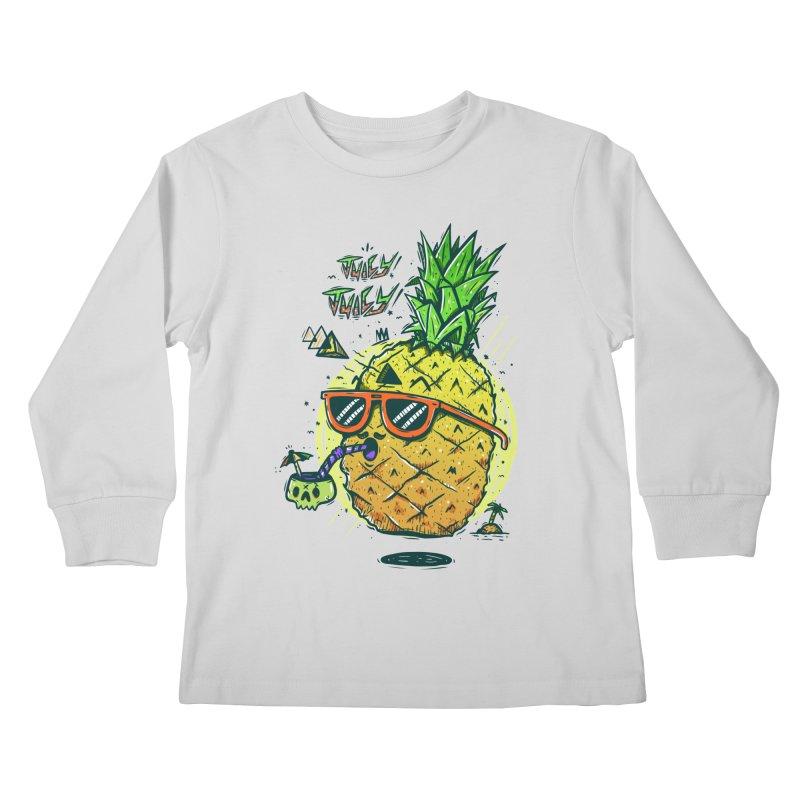 Juicy Juicy Kids Longsleeve T-Shirt by effect14's Artist Shop