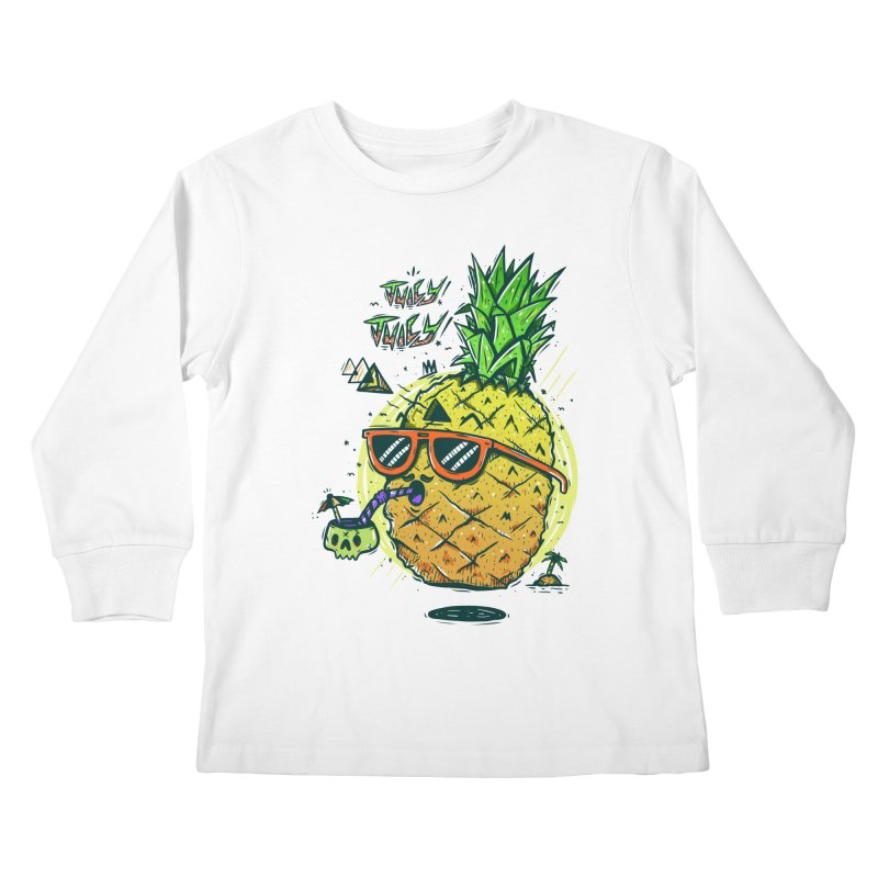 Juicy Juicy Kids Longsleeve T-Shirt by effect14's Artist Shop