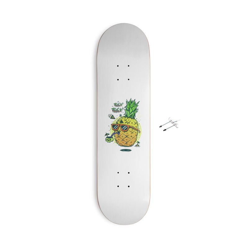 Juicy Juicy Accessories With Hanging Hardware Skateboard by effect14's Artist Shop