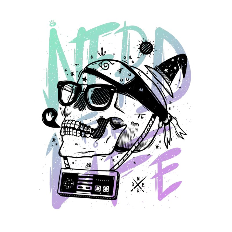 Nerd For Life by effect14's Artist Shop