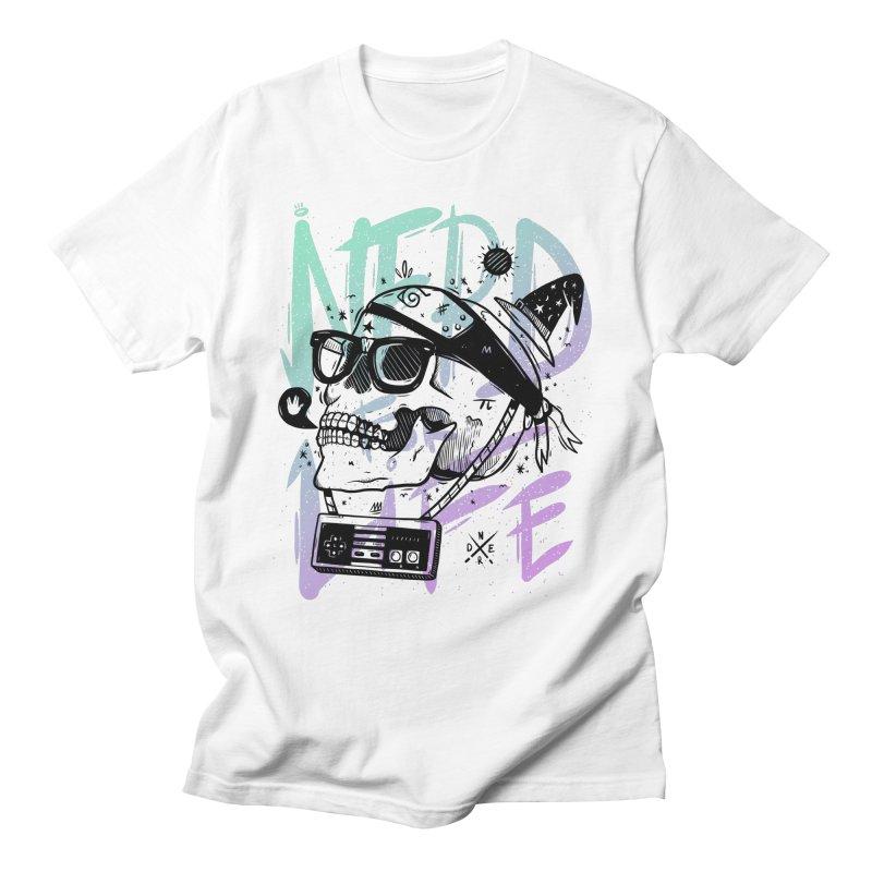 Nerd For Life Men's T-Shirt by effect14's Artist Shop