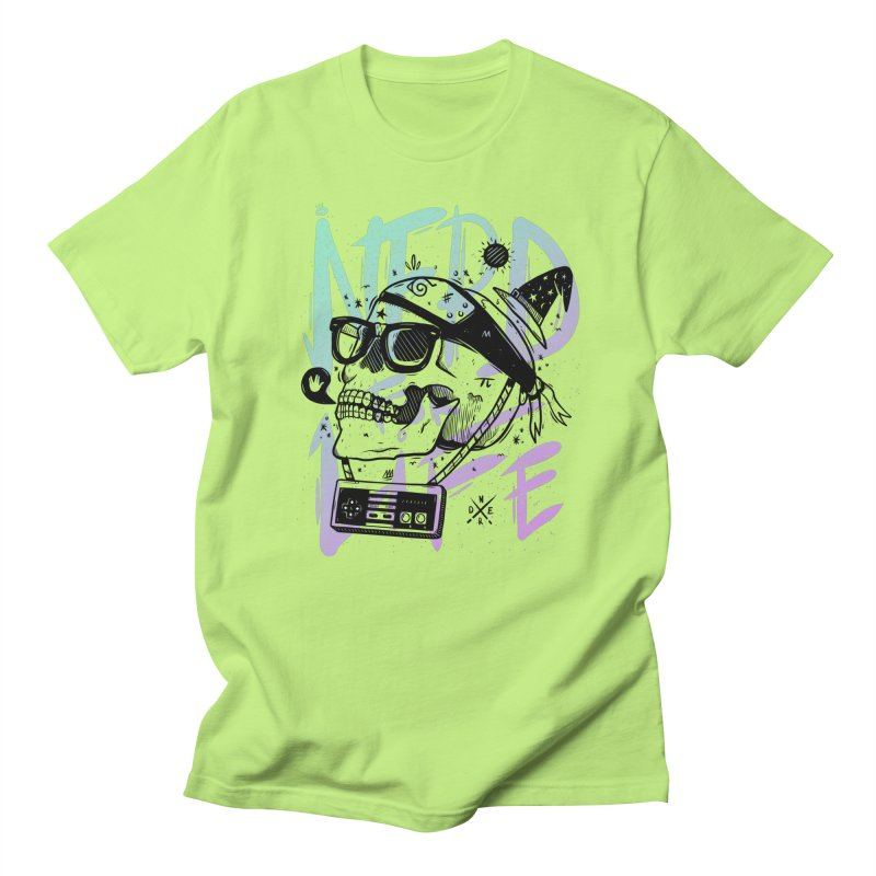 Nerd For Life Men's Regular T-Shirt by effect14's Artist Shop