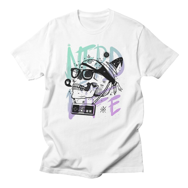 Nerd For Life Men's T-Shirt by effect14's Artist Shop