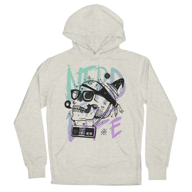 Nerd For Life Women's French Terry Pullover Hoody by effect14's Artist Shop