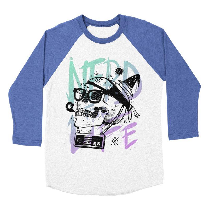 Nerd For Life Women's Baseball Triblend Longsleeve T-Shirt by effect14's Artist Shop
