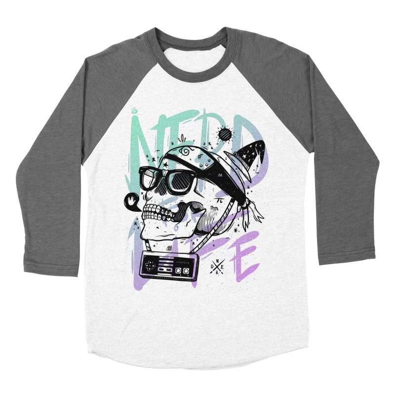 Nerd For Life Men's Baseball Triblend T-Shirt by effect14's Artist Shop