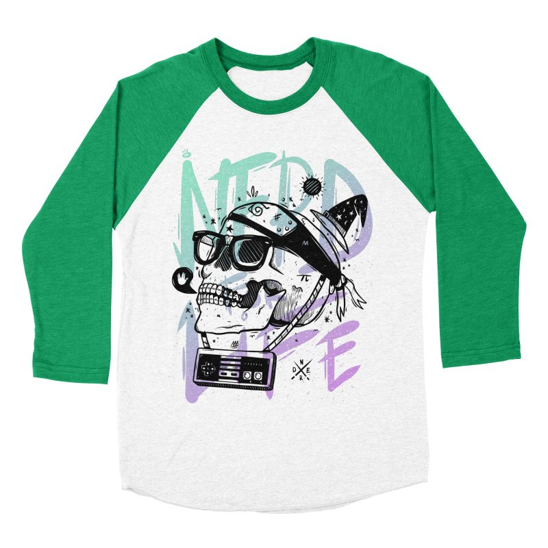 Nerd For Life Men's Baseball Triblend Longsleeve T-Shirt by effect14's Artist Shop