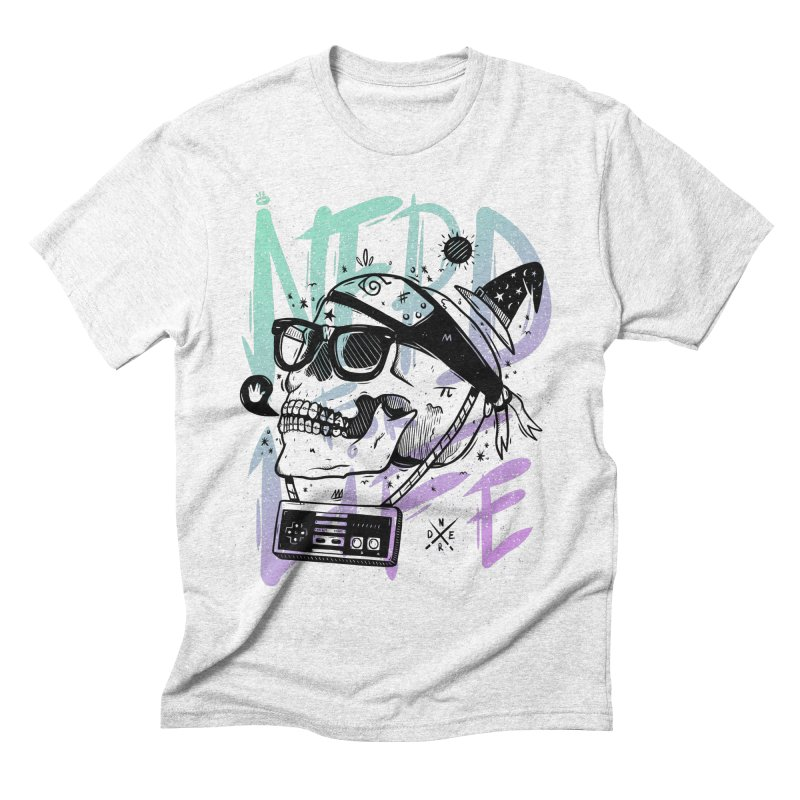 Nerd For Life Men's Triblend T-shirt by effect14's Artist Shop