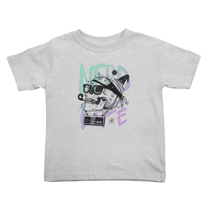 Nerd For Life Kids Toddler T-Shirt by effect14's Artist Shop