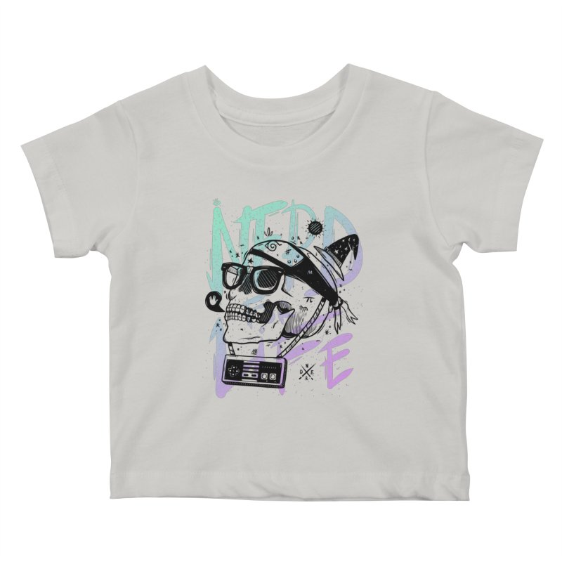 Nerd For Life Kids Baby T-Shirt by effect14's Artist Shop
