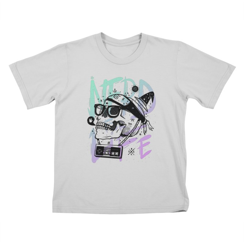 Nerd For Life Kids T-Shirt by effect14's Artist Shop