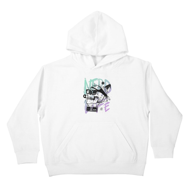 Nerd For Life Kids Pullover Hoody by effect14's Artist Shop