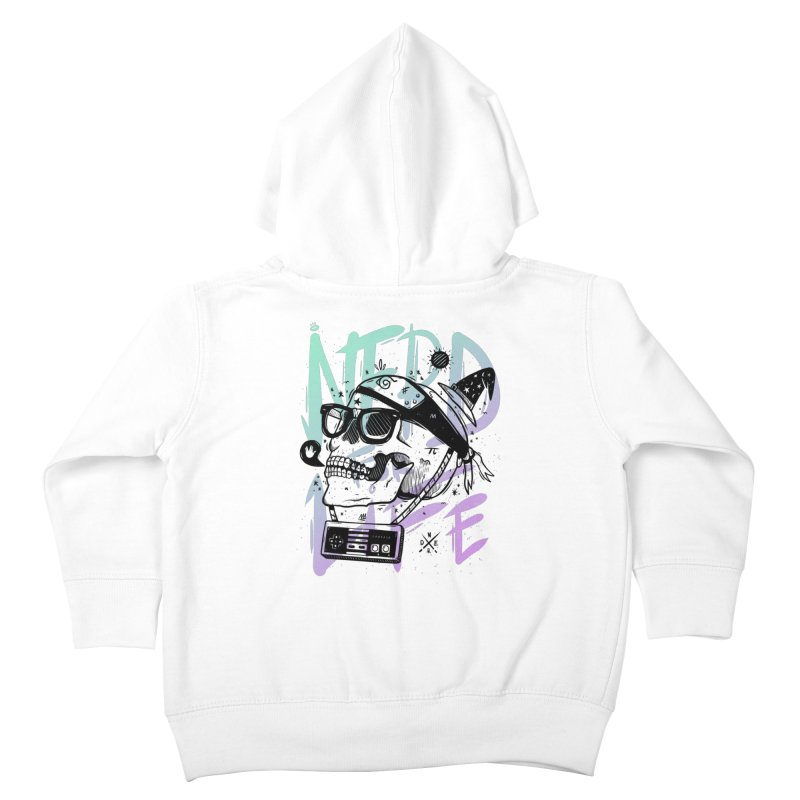 Nerd For Life Kids Toddler Zip-Up Hoody by effect14's Artist Shop