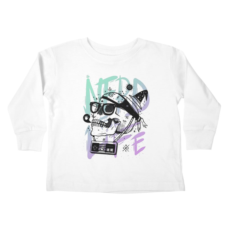 Nerd For Life Kids Toddler Longsleeve T-Shirt by effect14's Artist Shop