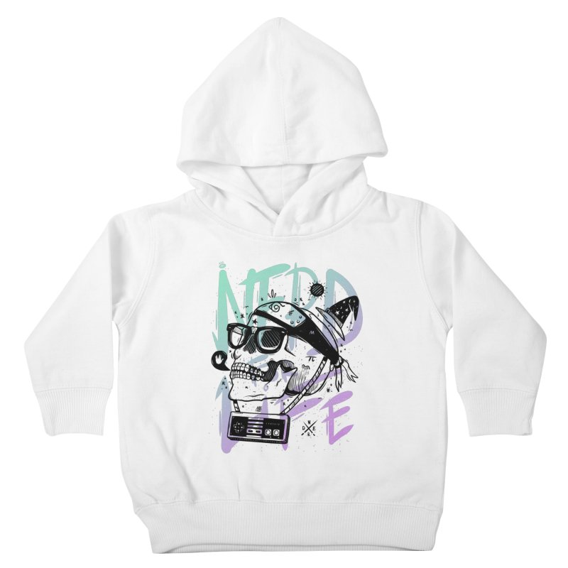 Nerd For Life Kids Toddler Pullover Hoody by effect14's Artist Shop