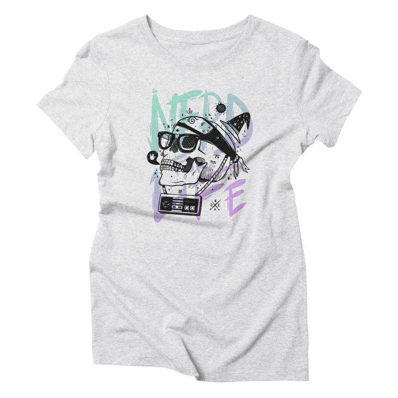 Nerd For Life Women's Triblend T-Shirt by effect14's Artist Shop