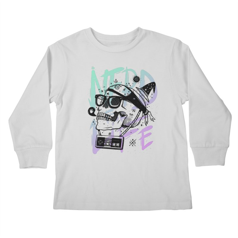 Nerd For Life Kids Longsleeve T-Shirt by effect14's Artist Shop
