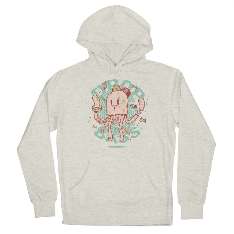 Drop The Bass Women's French Terry Pullover Hoody by effect14's Artist Shop
