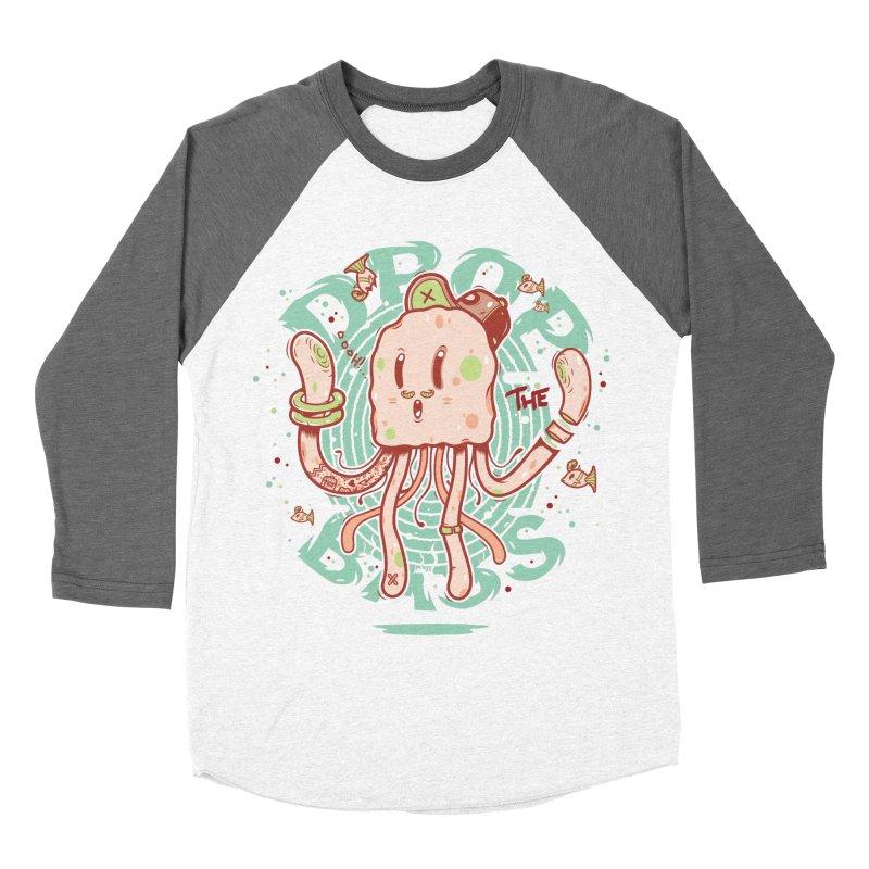 Drop The Bass Men's Baseball Triblend Longsleeve T-Shirt by effect14's Artist Shop