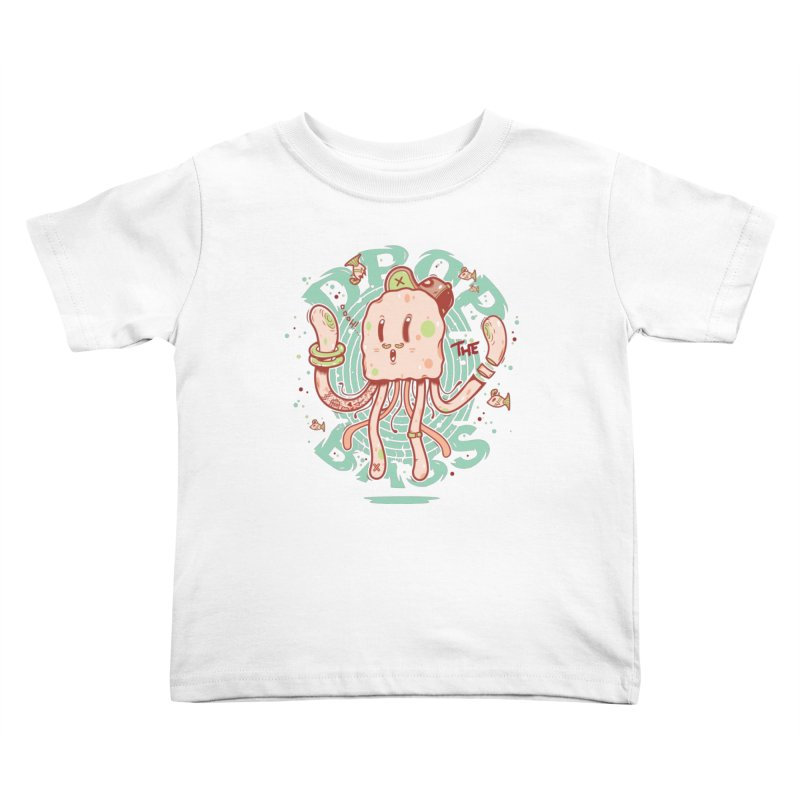 Drop The Bass Kids Toddler T-Shirt by effect14's Artist Shop