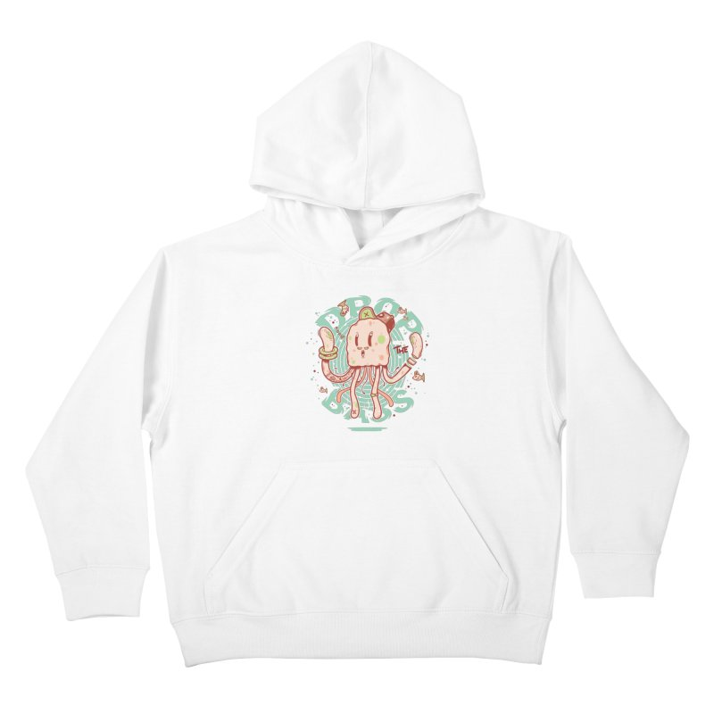 Drop The Bass Kids Pullover Hoody by effect14's Artist Shop