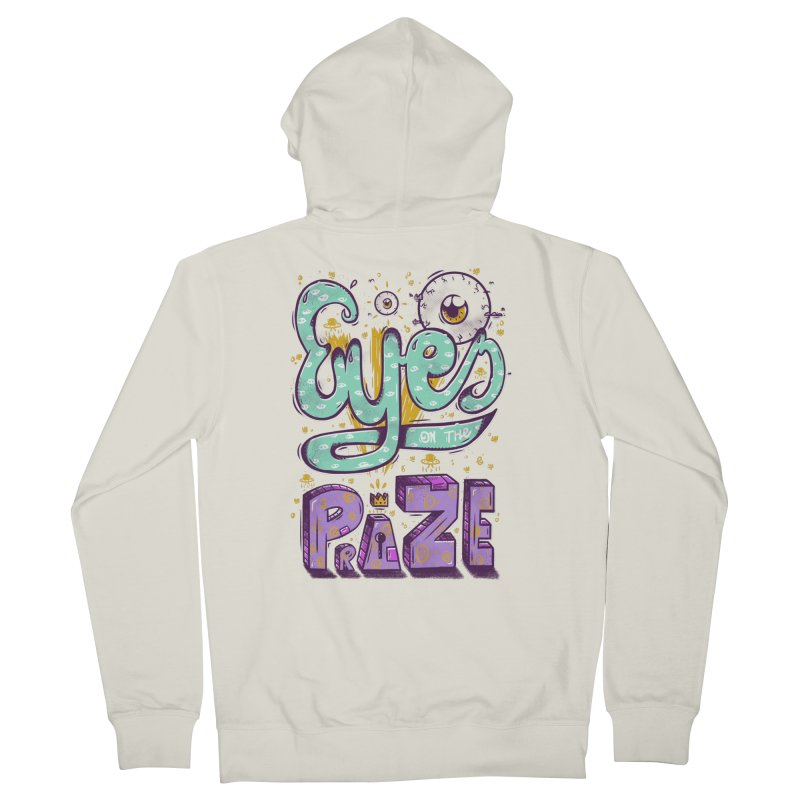 Eyes On The Prize Men's Zip-Up Hoody by effect14's Artist Shop
