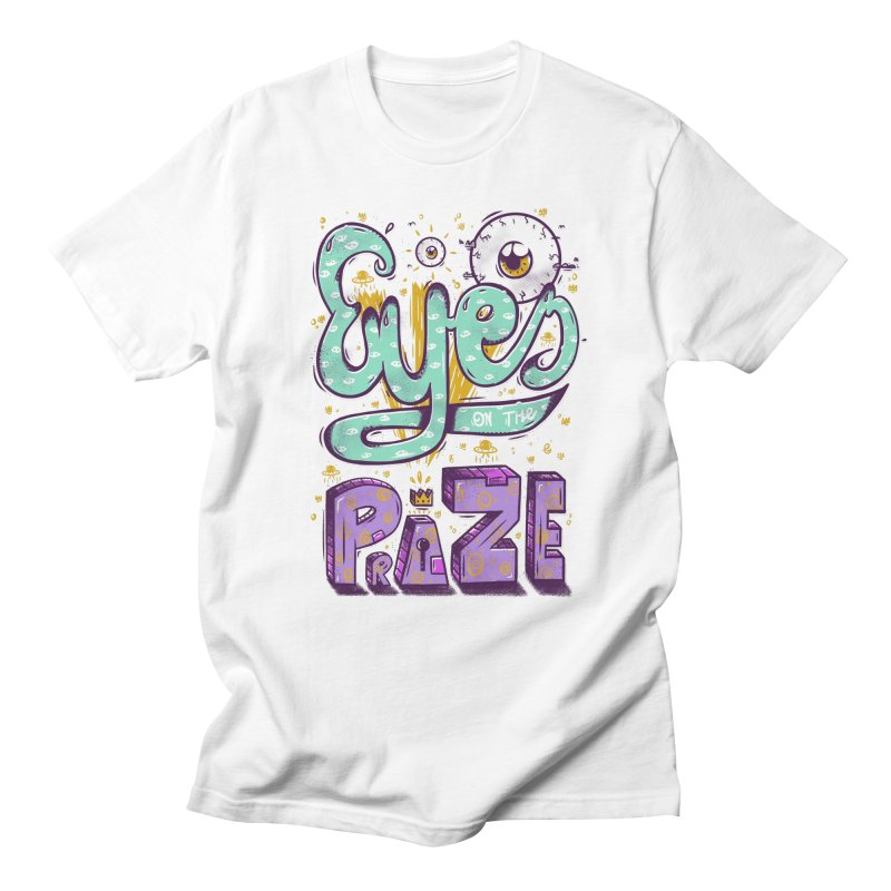 Eyes On The Prize Men's Regular T-Shirt by effect14's Artist Shop
