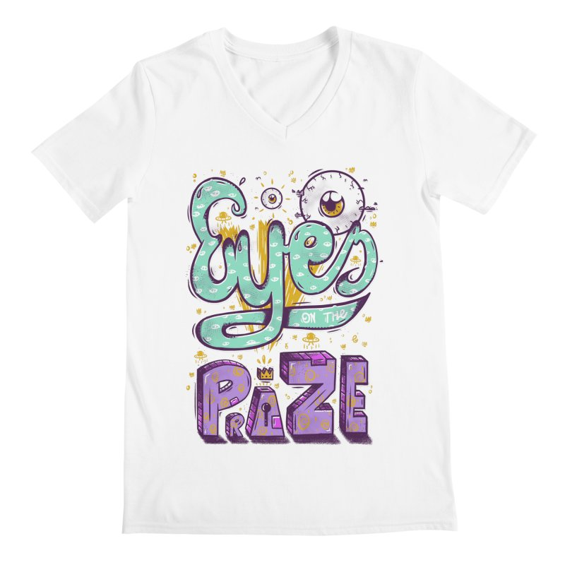 Eyes On The Prize Men's V-Neck by effect14's Artist Shop