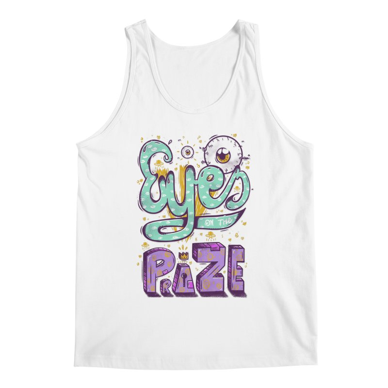 Eyes On The Prize Men's Regular Tank by effect14's Artist Shop