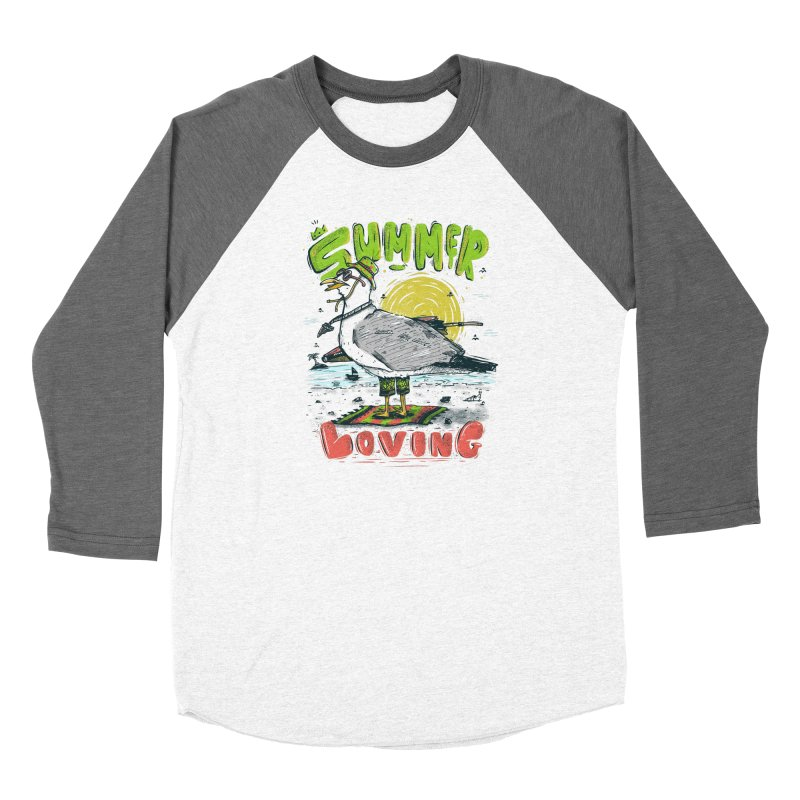 Summer Loving Women's Longsleeve T-Shirt by effect14's Artist Shop