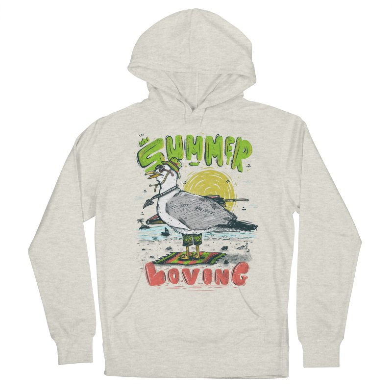 Summer Loving Women's French Terry Pullover Hoody by effect14's Artist Shop