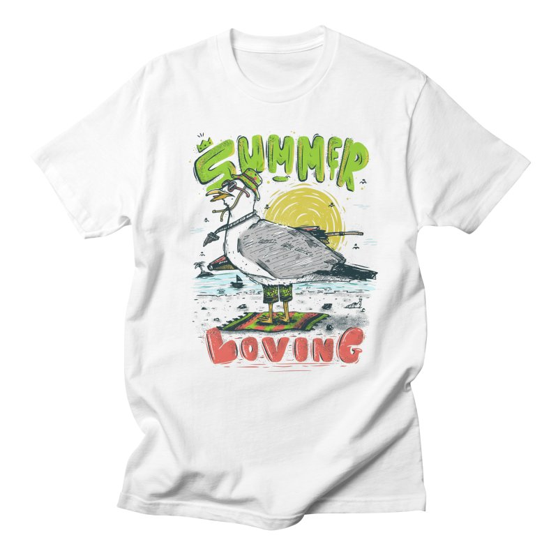 Summer Loving Men's Regular T-Shirt by effect14's Artist Shop