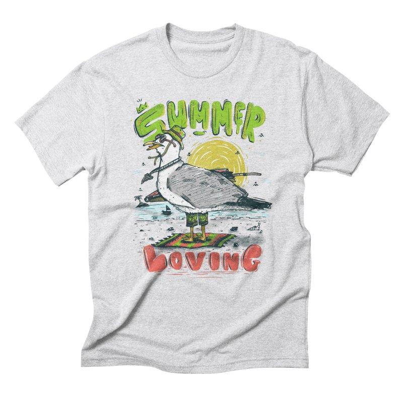 Summer Loving Men's Triblend T-Shirt by effect14's Artist Shop