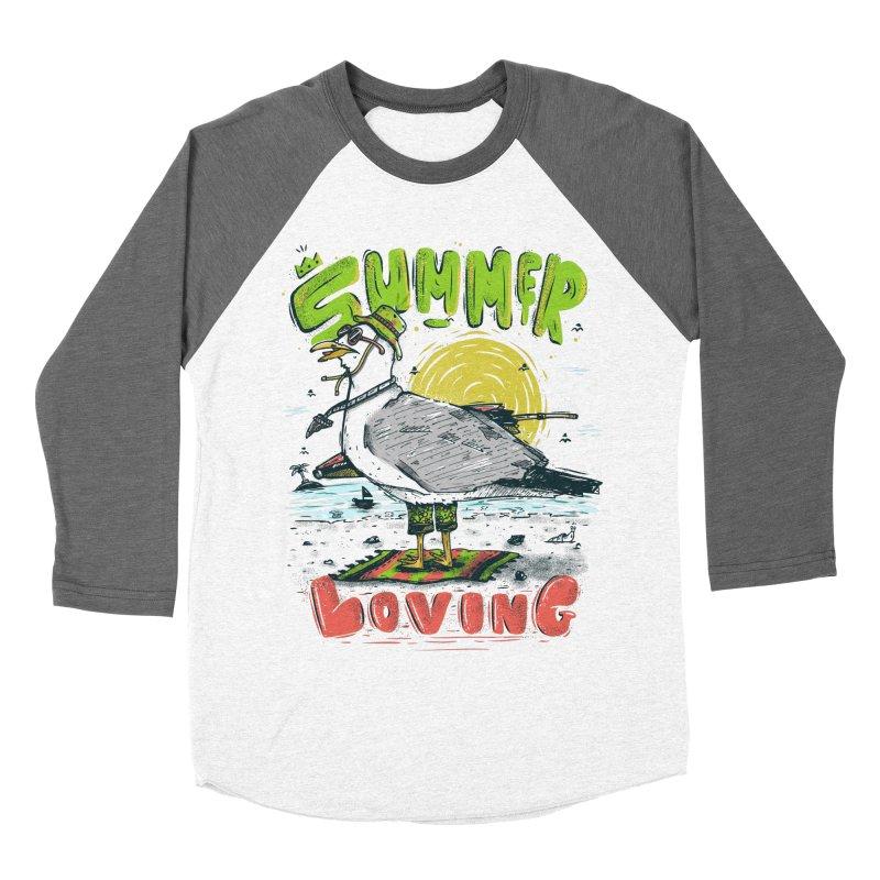 Summer Loving Women's Baseball Triblend T-Shirt by effect14's Artist Shop