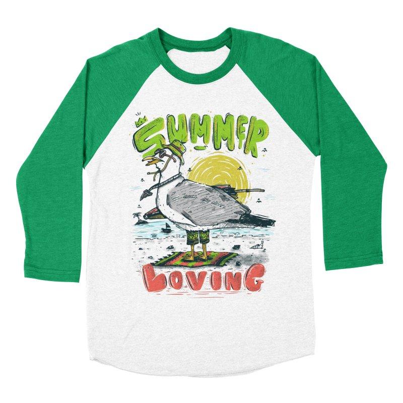 Summer Loving Women's Baseball Triblend Longsleeve T-Shirt by effect14's Artist Shop