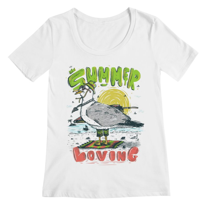 Summer Loving Women's Regular Scoop Neck by effect14's Artist Shop