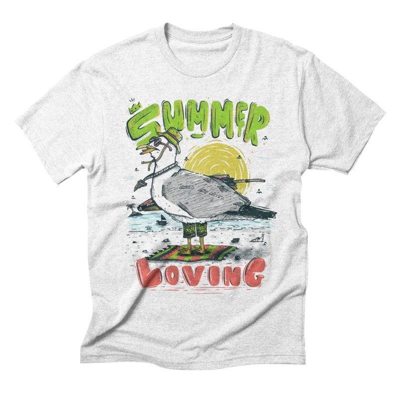 Summer Loving Men's Triblend T-shirt by effect14's Artist Shop