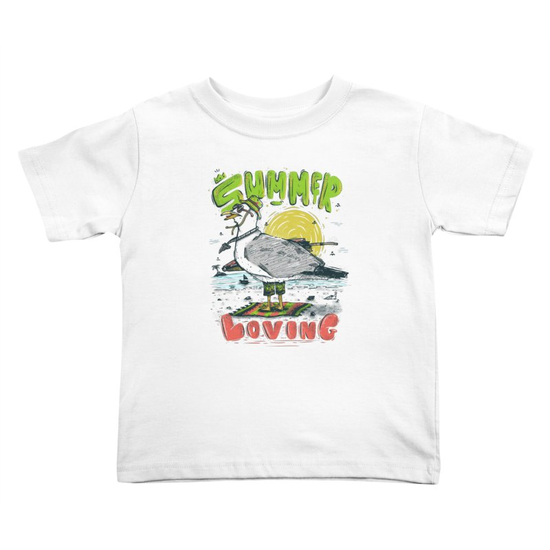 Summer Loving Kids Toddler T-Shirt by effect14's Artist Shop
