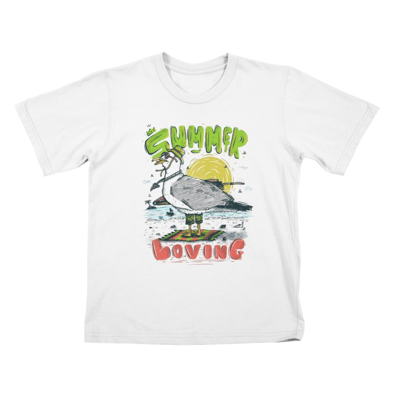 Summer Loving Kids T-Shirt by effect14's Artist Shop