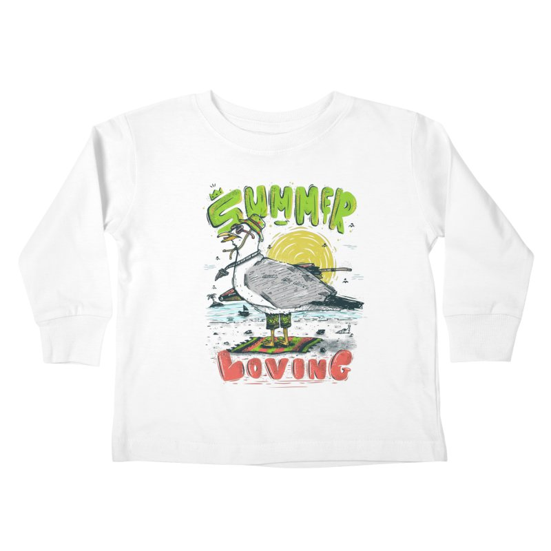 Summer Loving Kids Toddler Longsleeve T-Shirt by effect14's Artist Shop