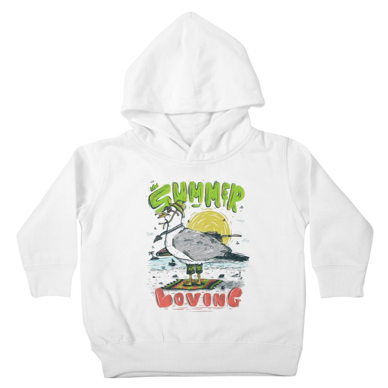 Summer Loving Kids Toddler Pullover Hoody by effect14's Artist Shop